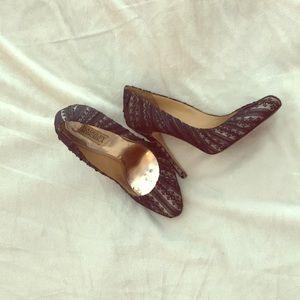 Badgley Mischka heels 8